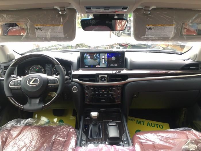 Bán ô tô Lexus LX 570 sản xuất năm 2018, màu đen, nhập khẩu Mỹ nguyên chiếc 21