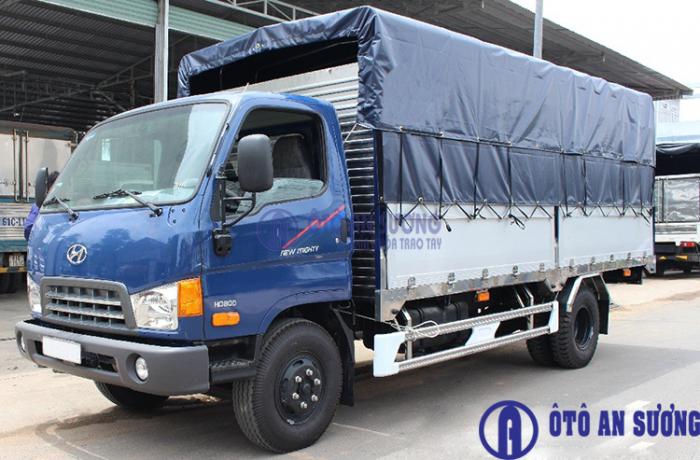 Hyundai HD800 sản xuất năm 2017 Số tay (số sàn) Xe tải động cơ Dầu diesel