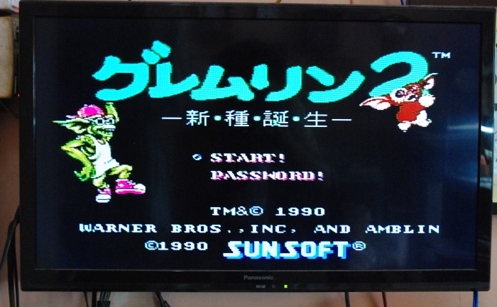 Game Famicom Gremlins 2 - Shinshu Tanjou3