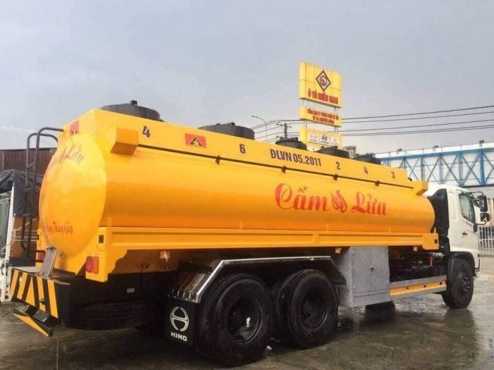 HINO 3 chân15 tấn (bồn xi téc) chở xăng dầu giá tốt