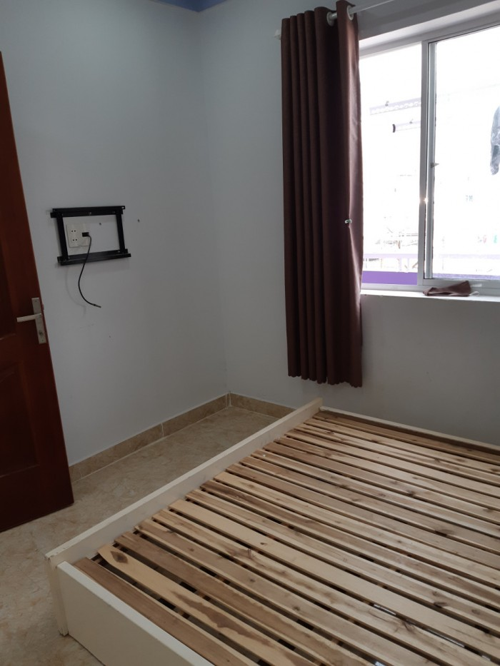 Cho thuê căn hộ mini khép kín, diện tích 25m2, sau lưng Lotte Mart ở Quận 7.