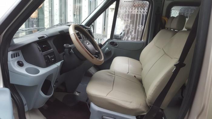 Cần bán gấp Ford Transit 2010 màu vàng cát máy dầu 4