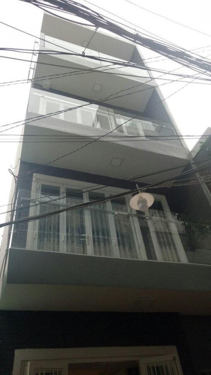 Bán nhà HXH 281 Lê Văn Sỹ