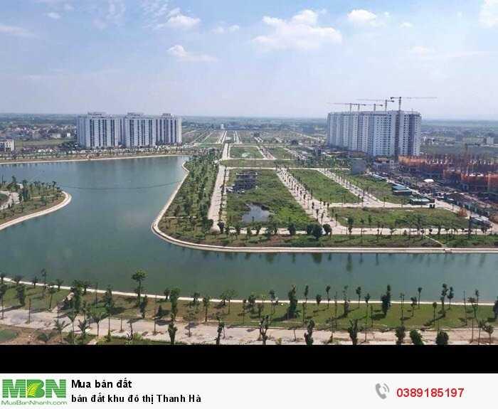 Bán đất khu đô thị Thanh Hà