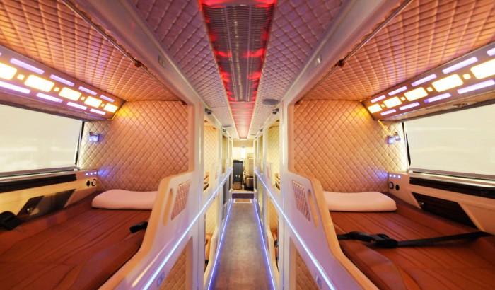 Bán xe giường nằm Thaco Bus TB120SL đời mới 2019.