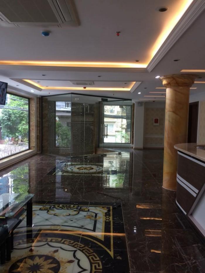 Bán tòa khách sạn 7 tầng thang máy mặt phố Nguyễn Hữu Huân DT 98m2