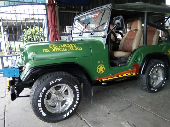 Jeep Wrangler sản xuất năm 1987 Số tay (số sàn) Động cơ Xăng