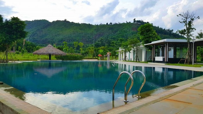 Bán 10633m2 ĐẤT DỰ ÁN KĐT Xanh Villas Resort Thạch Thất, Đại lộ Thăng Long, Hà Nội