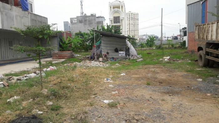 Đất đây đất đâyCô Nhỉ bán nhanh lô đất MT Hưng Long, Bình Chánh, SHR.