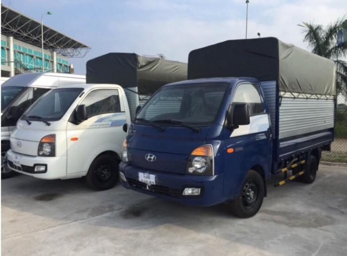 Hyundai Porter H150, thùng mui phủ bạt 5
