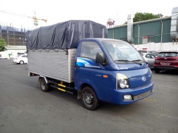 Hyundai Porter H150, thùng mui phủ bạt 3