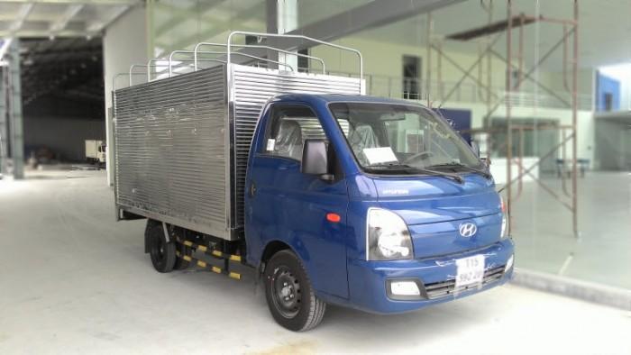 Hyundai Porter H150, thùng mui phủ bạt 4