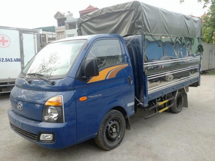 Hyundai Porter H150, thùng mui phủ bạt