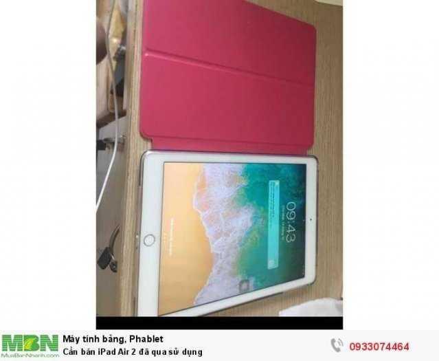 Cần bán iPad Air 2 đã qua sử dụng0