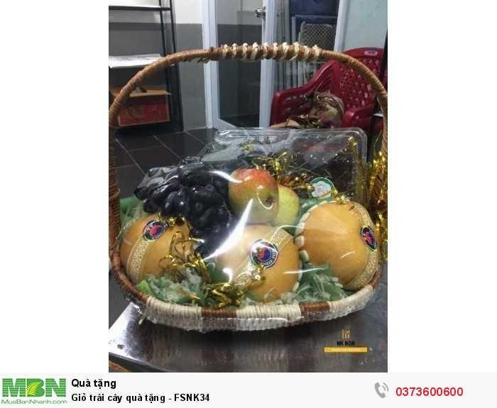 Bán Giỏ trái cây quà tặng - FSNK34