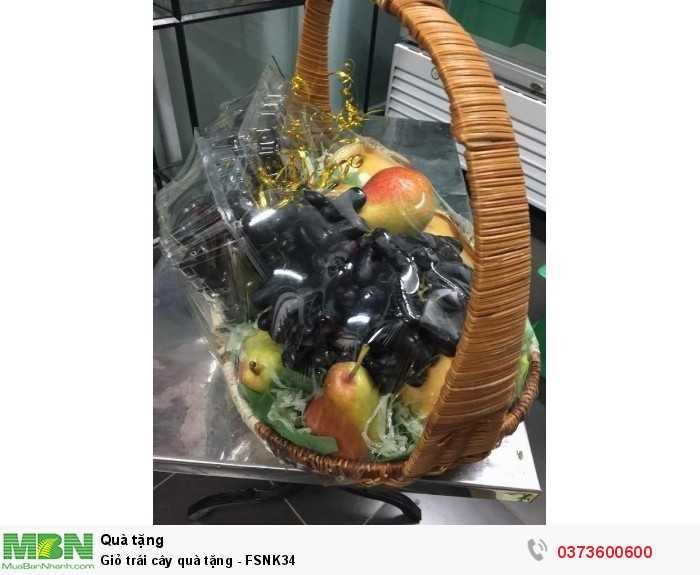 Tặng Giỏ trái cây quà tặng - FSNK34
