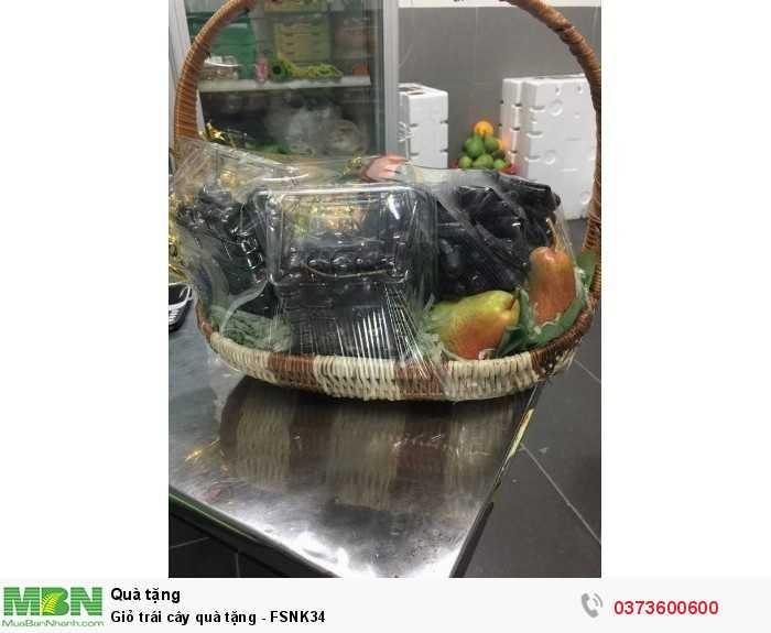 Đặt online Giỏ trái cây quà tặng - FSNK34