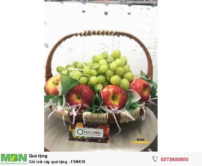Đặt Giỏ trái cây quà tặng - FSNK350