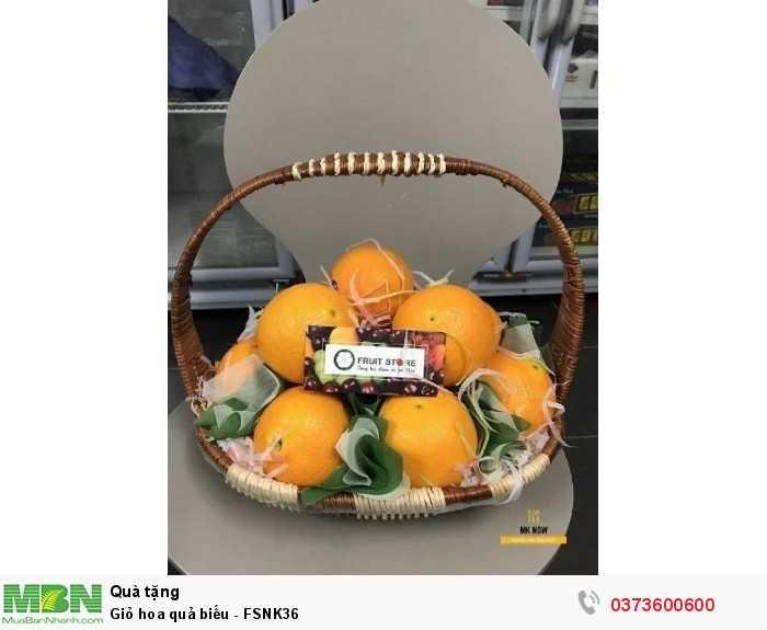 Mua Giỏ hoa quả biếu - FSNK36