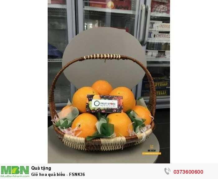 Bán Giỏ hoa quả biếu - FSNK36