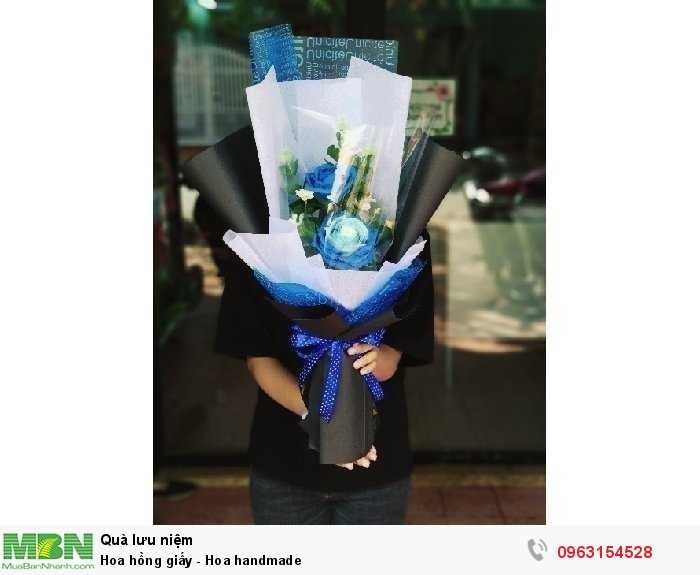 Hoa hồng giấy - Hoa handmade1