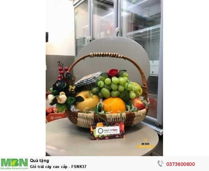 Quà tặng Giỏ trái cây cao cấp - FSNK373