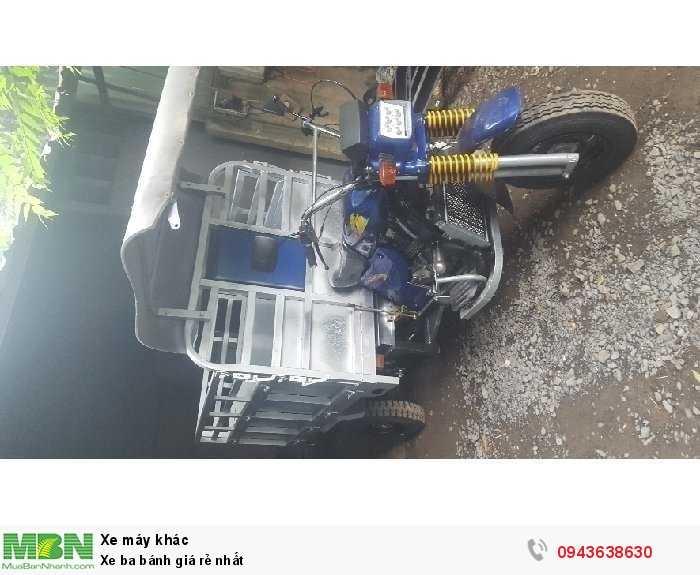 Xe ba bánh Nam Định có ben