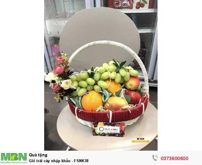 Mua Giỏ trái cây nhập khẩu - FSNK381