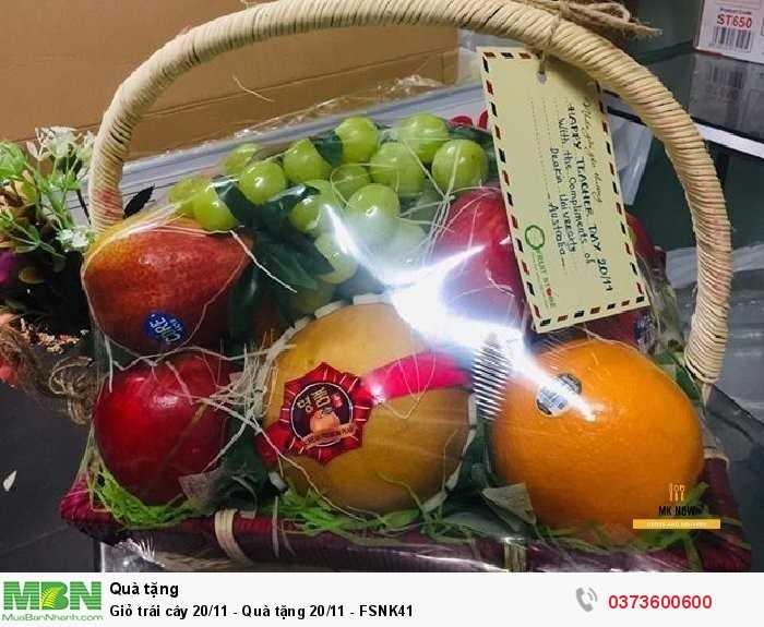 Bán Giỏ trái cây 20/11 - Quà tặng 20/11 - FSNK412