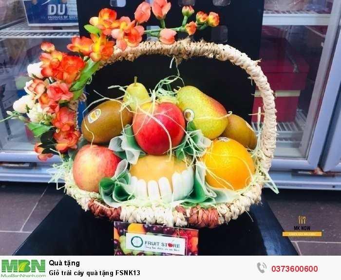 Bán Giỏ trái cây quà tặng FSNK132
