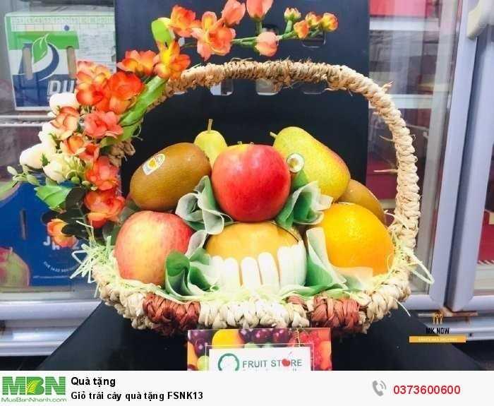 Order Giỏ trái cây quà tặng FSNK133