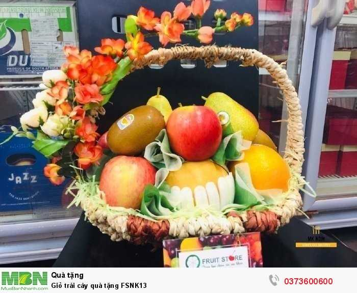 Đặt mua Giỏ trái cây quà tặng FSNK134