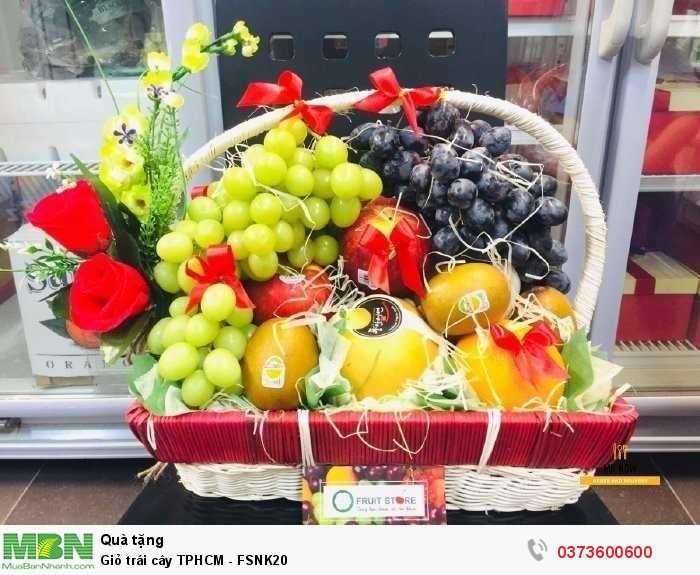 Bán Giỏ trái cây TPHCM - FSNK20