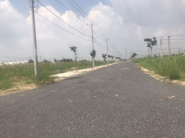 Đất nền 80m2 KDC Sài Gòn Village Long Hậu