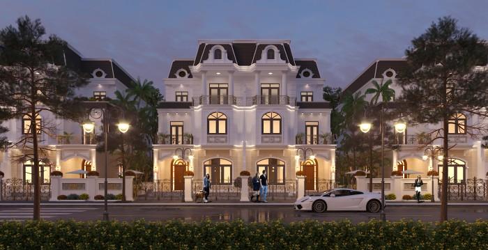 Bán căn góc biệt thự đơn lập 239m2 cực đẹp tại Hà Nội