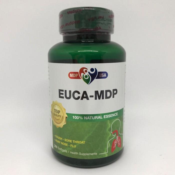Euca - MDP - Softgels - Giảm ho bổ phế, hỗ trợ điều trị cảm cúm, sổ mũi0