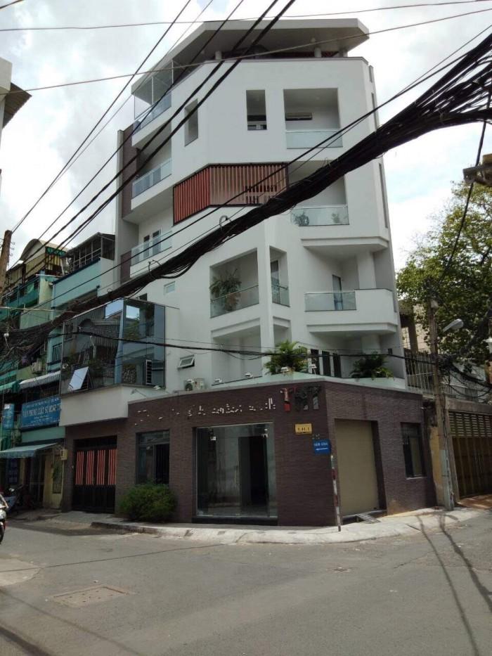 Bán/cho thuê nhà 5 tầng, có thang máy, 88m (7.5x12), góc hẻm 8m, đường 3/2, phường 12