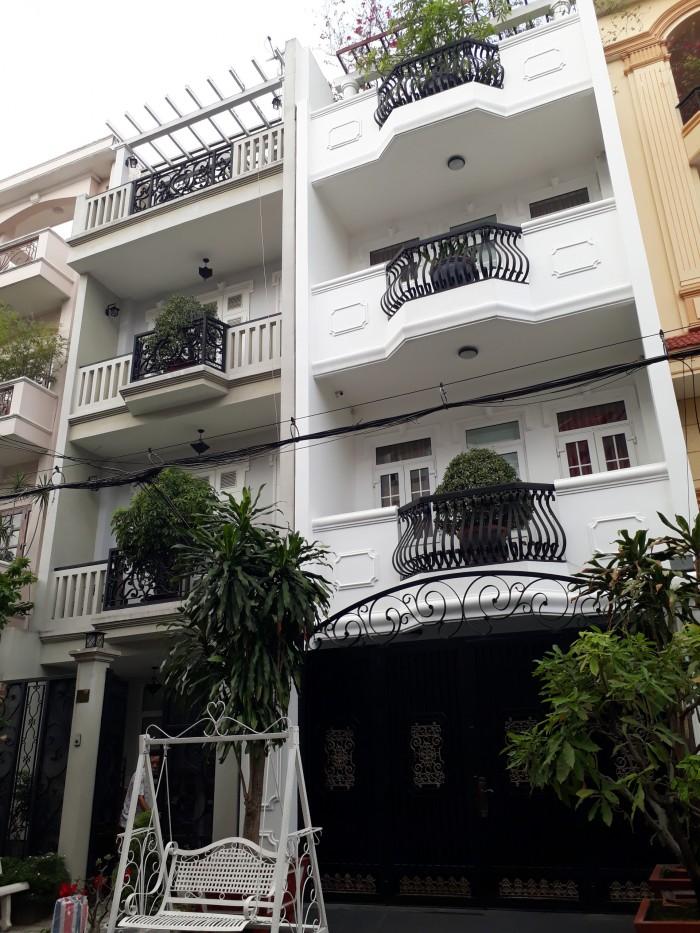 Khu villa Nguyễn Trọng Tuyển: 4x23.5m . 3 lầu nhà mới