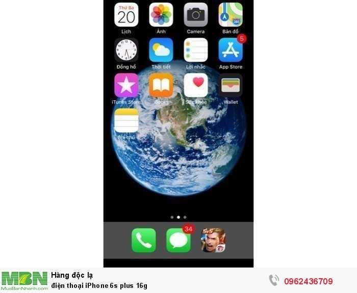 Điện thoại iPhone 6s plus 16g0