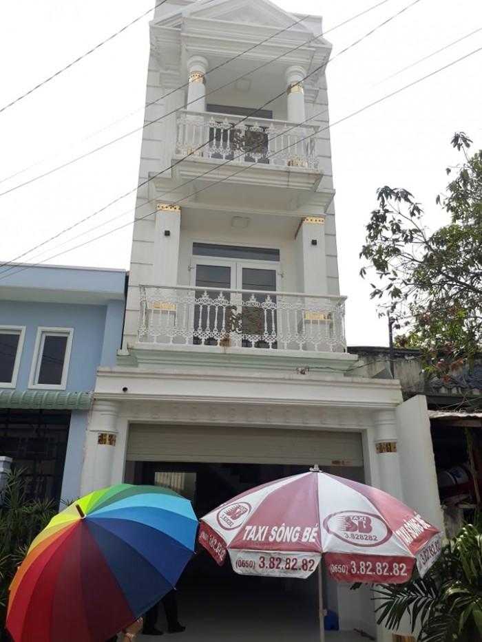 Bán Nhà 1 Trệt 2 Lầu , Gần 200m2 Sử Dụng , Ngay Tt Thủ Dầu Một , Phường Phú Hòa.