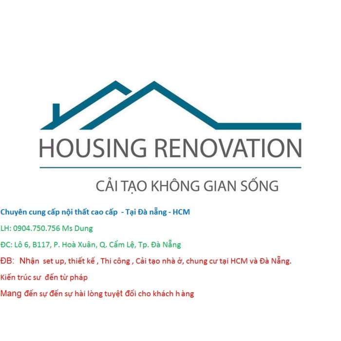 Chuyên cung cấp nội thất cao cấp  - Tại Đà nẵng - HCM- thiết kế, cải tạo không gian sống5