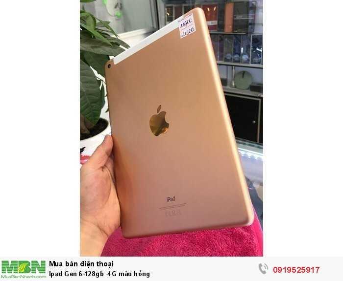 Ipad Gen 6-128gb -4G màu hồng1