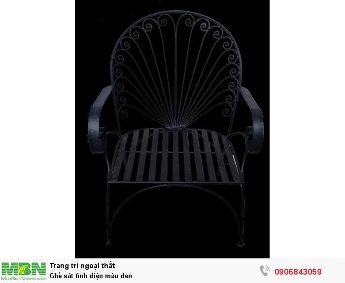 Ghế sát tĩnh điện màu đen0