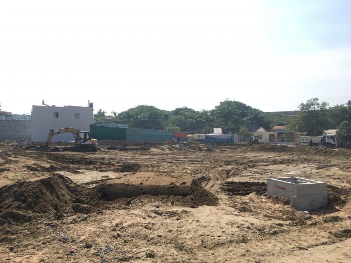 Đất thổ cư phía sau chợ Bình Chánh, ngay trường THPT Rạch Kiến