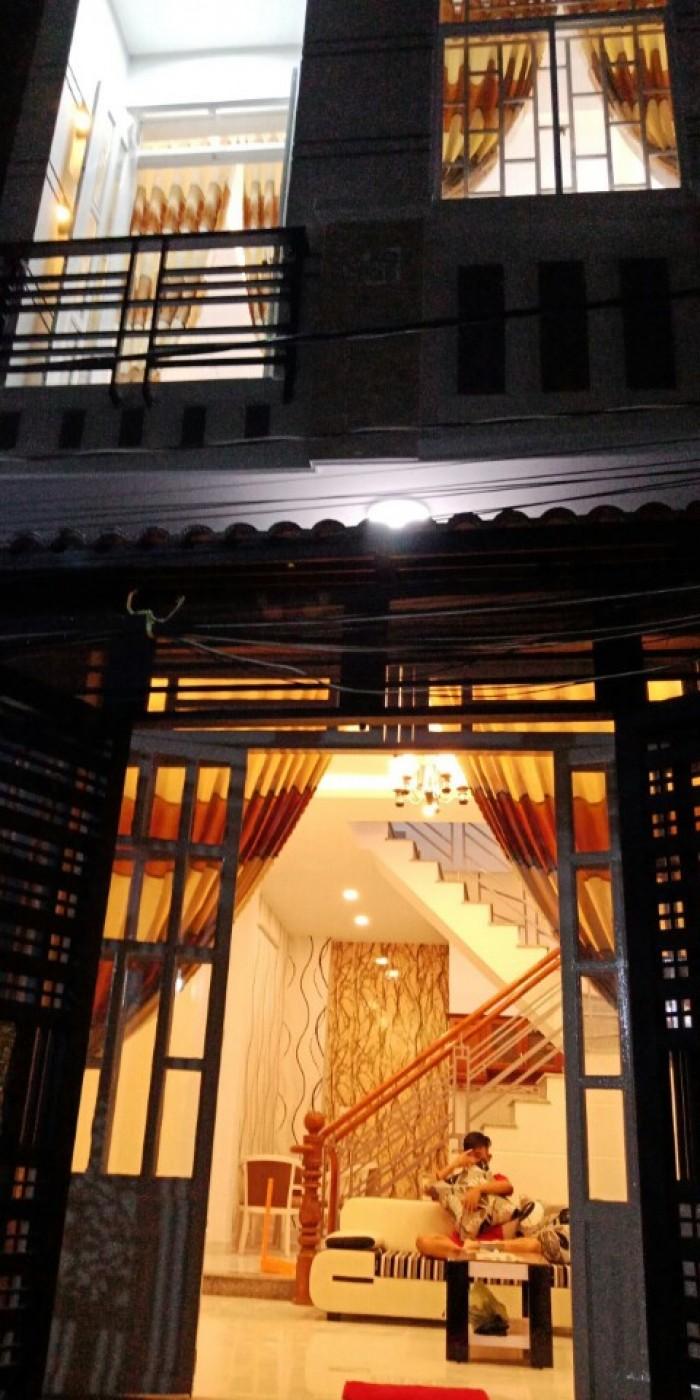 Nhà chính chủ, sổ hồng riêng, DT 6x9m, 2 tầng, 2 phòng ngủ, giá 2.28 tỷ, Đào Tông Nguyên, Nhà Bè
