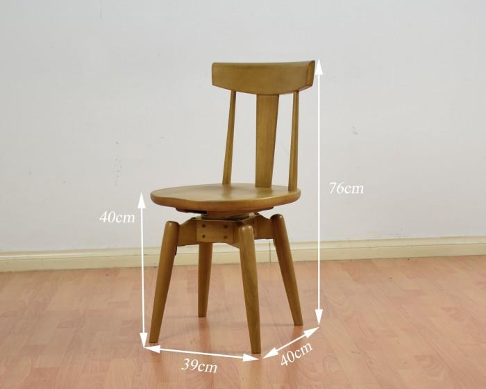 Bộ bàn tròn 4 ghế xoay1