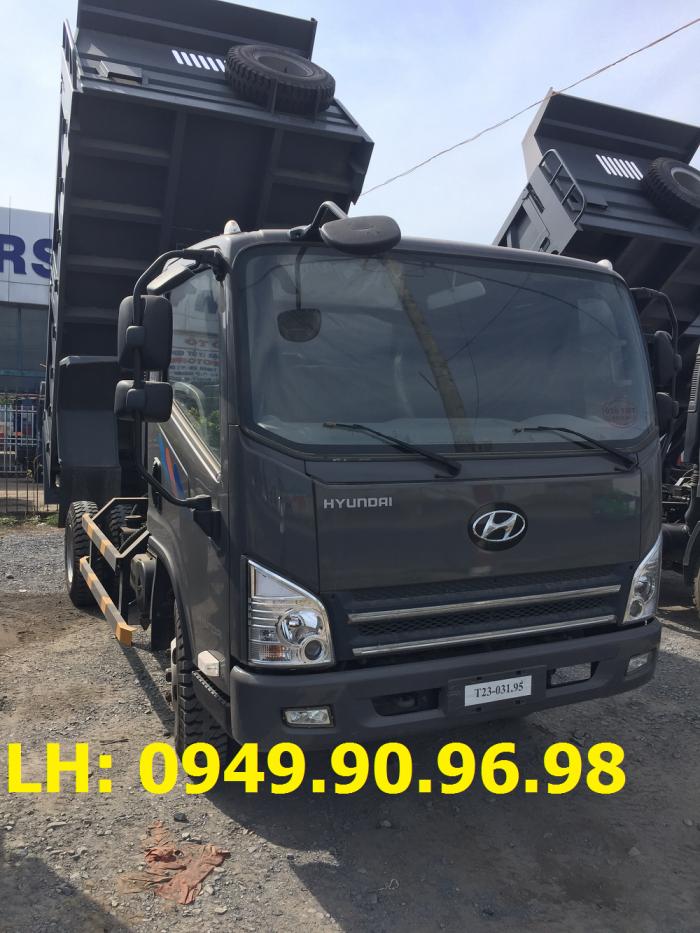 Xe ben 7 tấn máy Hyundai I Xe ben máy Hyundai 7 tấn I Xe Hyundai ben 7 tấn