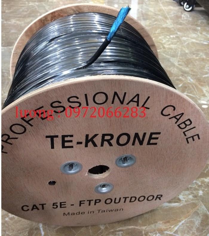 Cáp mạng TE-KRONE Cat5e ngoài trời3