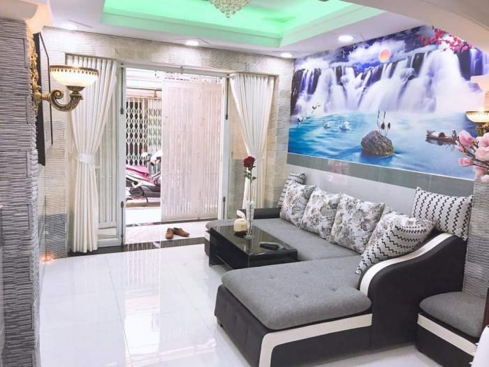 Nhà mới đẹp vào ở ngây 35m2 P.1 Q.Tân Bình
