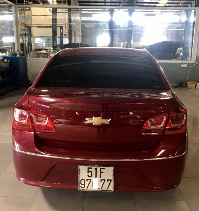 Chervrolet Cruze LT 2016, màu đỏ, xe cá nhân